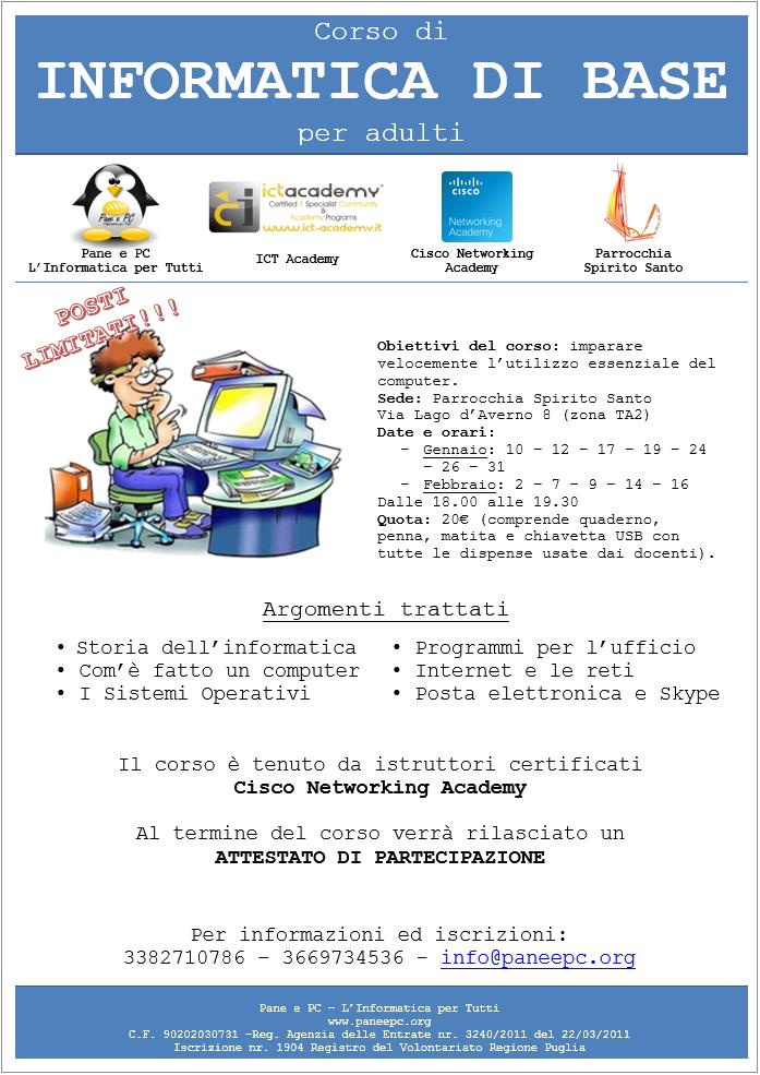 Alfabetizzazione-Informatica-Gennaio-2017