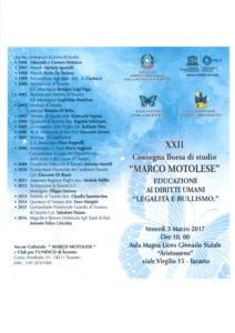 Borsa di Sudio Marco Motolese 3.3